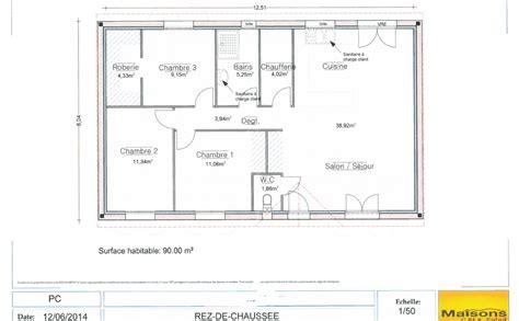 Plan De Maison Coté by Plan Cot 233 De Maison Avie Home