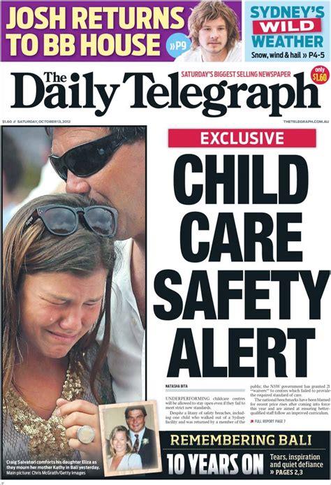 Daily Telegraph Articles Kehagias cronulla riots newspaper articles daily telegraph cover