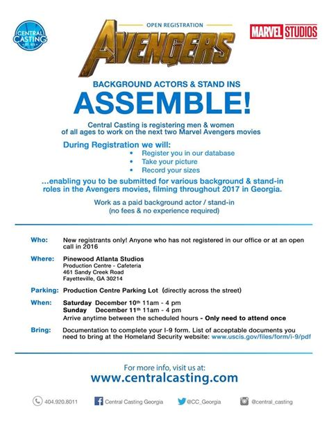 open casting film indonesia 2016 open casting call for the next marvel avengers movie in
