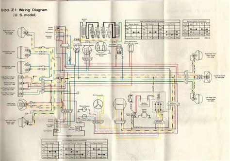 wiring kawasaki z1 wiring library