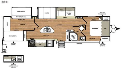 forest river rv floor plans new 2015 forest river rv salem hemisphere lite 300bh