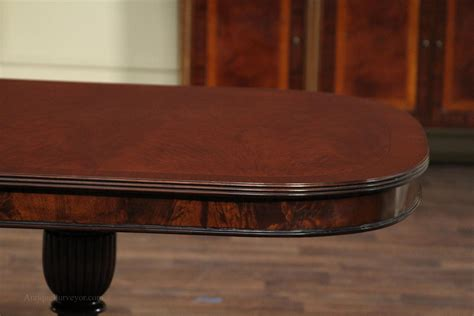 mahogany dining room table mahogany dining room table with duncan phyfe style
