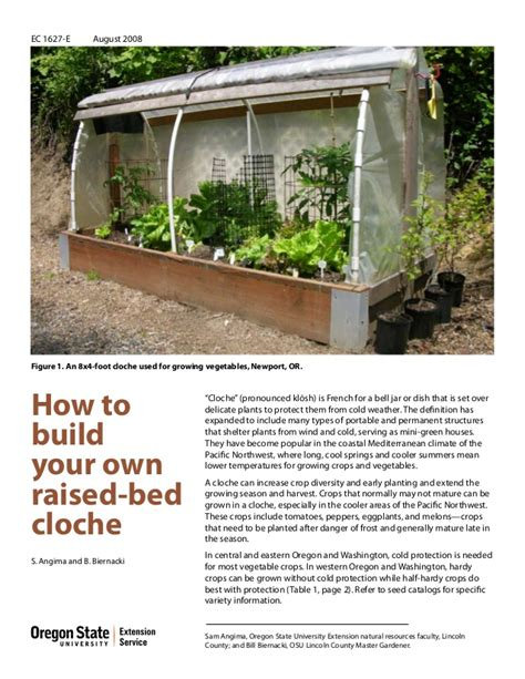 how to build a backyard patio how to build your own raised bed cloche garden for