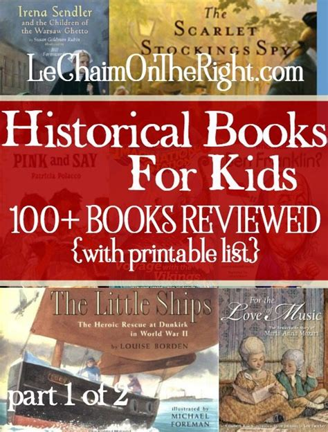 historical picture books free printable list of historical books