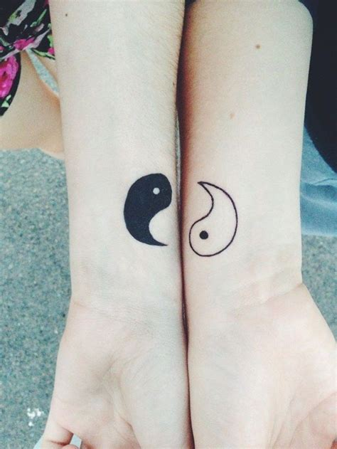 matching yin yang tattoos 31 insanely cool and adorable matching tattoos for