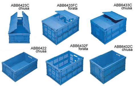 cassette plastica per alimenti jollyplast contenitori sovrapponibili abbattibili