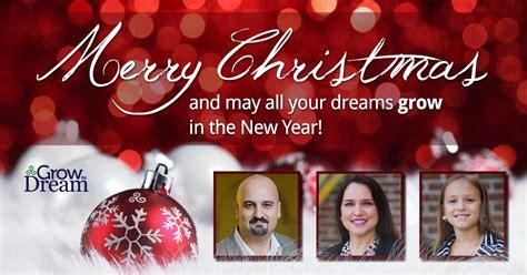 merry christmas  grow  dream grow  dream  epiphany marketing llc