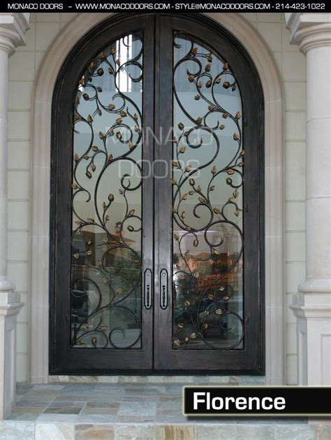steel door design wrought iron entry doors monaco doors