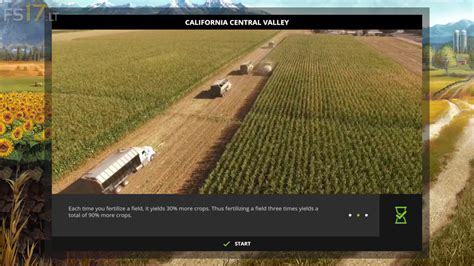 california map fs17 california central valley map v 1 0 beta fs17 mods