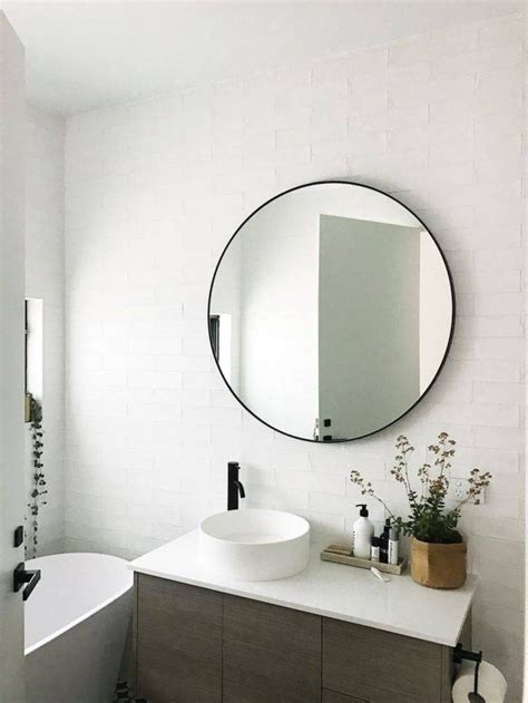 best 25 round bathroom mirror ideas on pinterest minimal 30 best collection of large round black mirrors