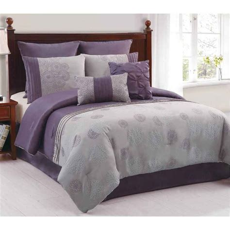 gray and purple bedrooms bedroom in purple and grey decosee