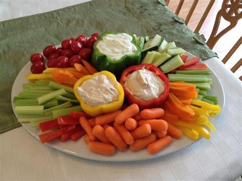 veggie tray way to serve dip let s