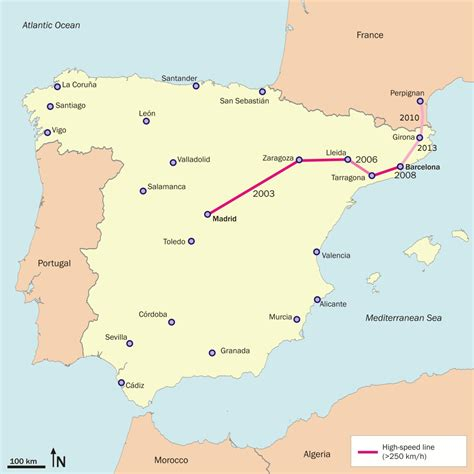 barcelona to madrid lgv madrid barcelone figueras wikip 233 dia