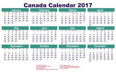 Calendrier Canada 2018 2017 Calendar Canada 2018 Calendar With Holidays