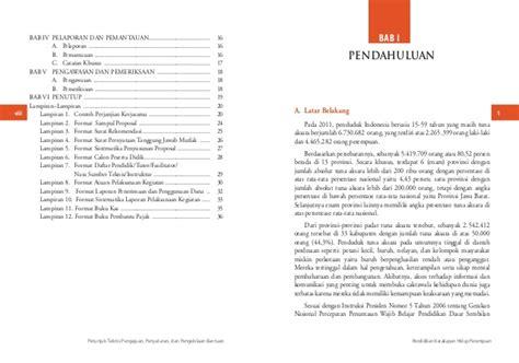 format buku besar pkh petunjuk teknis pkh