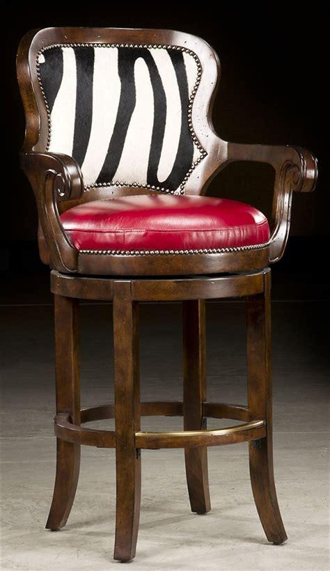 zebra bar chairs zebra hide bar stool