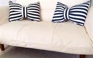 Black And White Sofa Pillows 3d Bow Throw Pillows Creative Black And White Striped Sofa Cushions Throwpillowshome