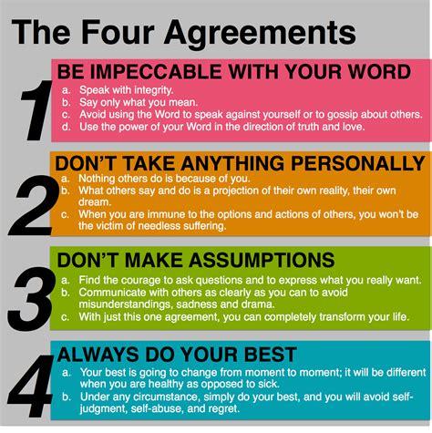 fight 4 us agreement books the four agreements leadership hub
