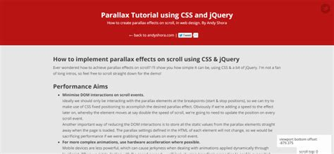 tutorial jquery parallax the 10 best parallax design tutorials ever spyrestudios