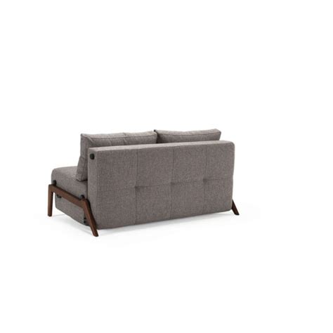innovation living sofa bed cubed deluxe leather textile or fabric sleeper full or