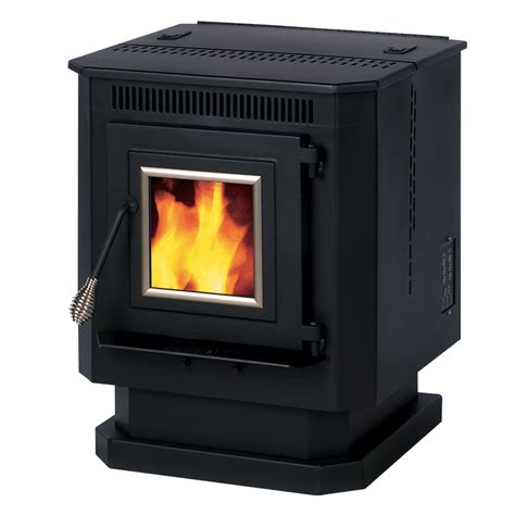 Summers Plumbing Heating And Cooling Reviews by Shop Summers Heat 1 500 Sq Ft Pellet Stove At Lowes