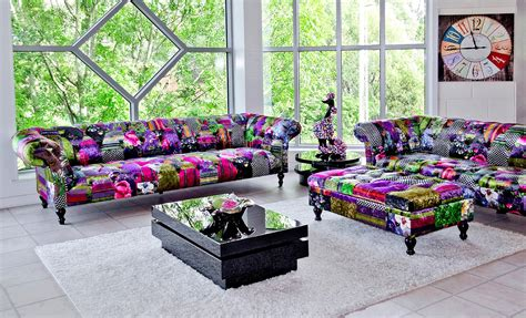 Patchwork Furniture Uk - alhambra 2 seater patchwork sofa be fabulous