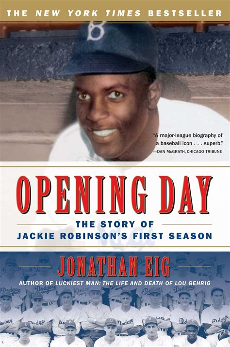 Jackie Robinson An American Book Report Opening Day Book By Jonathan Eig Official Publisher Page Simon Schuster