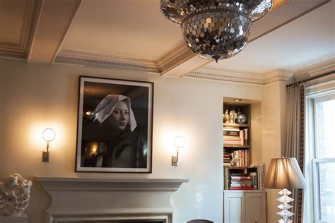 coffered walls add personality to your interior with a coffered