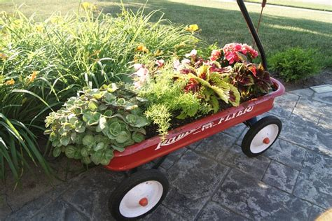 Wagon Planter wagon planter i need a garden