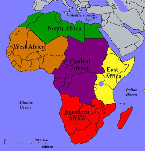 Sections Of Africa by Geography And Imperialism We Re Talk About Africa