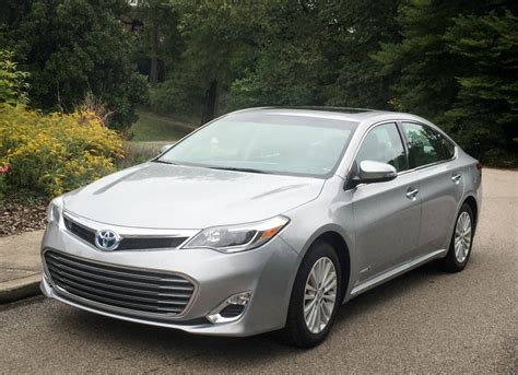 2015 Toyota Avalon Reviews Review 2015 Toyota Avalon Hybrid Xle Premium 95 Octane