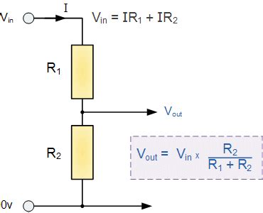 current through resistor network more about voltage divider circuits eeweb community
