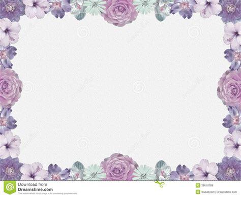 style flower lilac flower frame nostalgic style royalty free stock