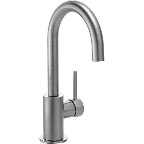 restaurant kitchen faucet delta cassidy touch single handle pull sprayer bar