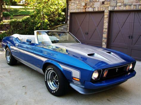 1973 mustang cobra american cars 1973 ford mustang convertible q code