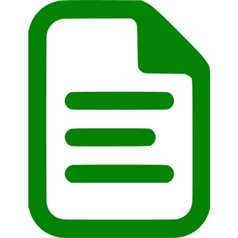 green document icon  green file icons
