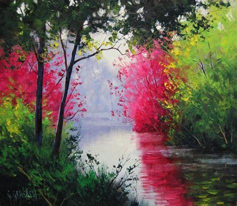 imagenes impresionantes y hermosas por amor al arte hermosas pinturas de paisaje del artista
