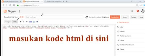 cara membuat quotation cara membuat quote di blog atau website kangkomar net