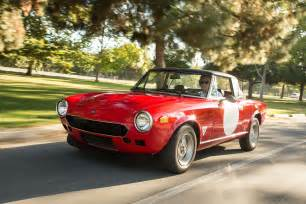 Fiat 124s Collectible Classic 1968 1985 Fiat 124 Spider