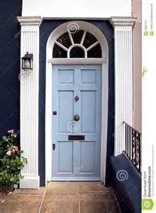 Light Blue Front Door by Light Blue Door Royalty Free Stock Photography Image