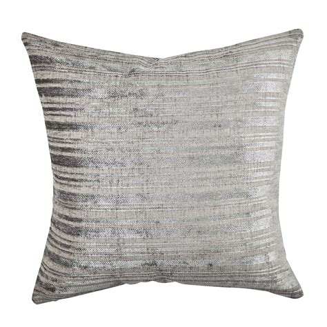 Throw Pillow Fabric by Vesper Stripe Designer Fabric Throw Pillow Wayfair