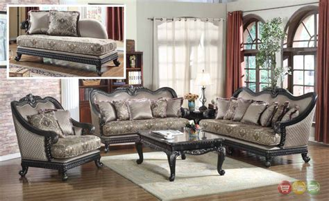 Traditional Formal Living Room Furniture Sofa Dark Wood Traditional Living Room Sofas
