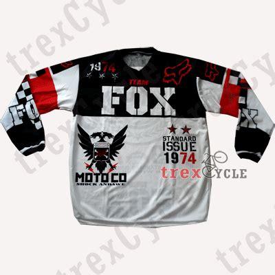 Baju Lengan Panjang Fox toko baju jersey sepeda jual jersey downhill fox dan