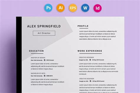 Interesting Resume Designs by 29 Creative And Beautiful Resume Templates Wisestep