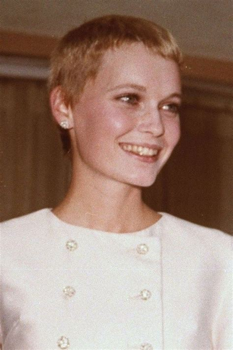 mia farrow haircut mia farrow hairstyle hair beauty pinterest