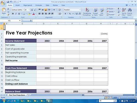financial templates december 2010