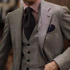 Kem Glen Black White Navy Maroon suits on pocket squares burgundy and striped ties