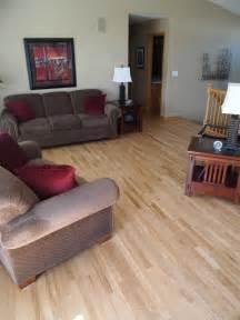 unfinished vs prefinished natural accent hardwood floors