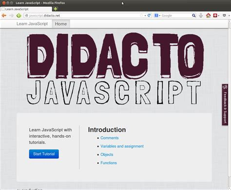 javascript koans tutorial didacto learn javascript with interactive executable