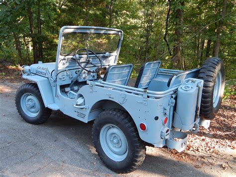 m38 jeep 1952 willys m38 navy jeep classic military vehicles